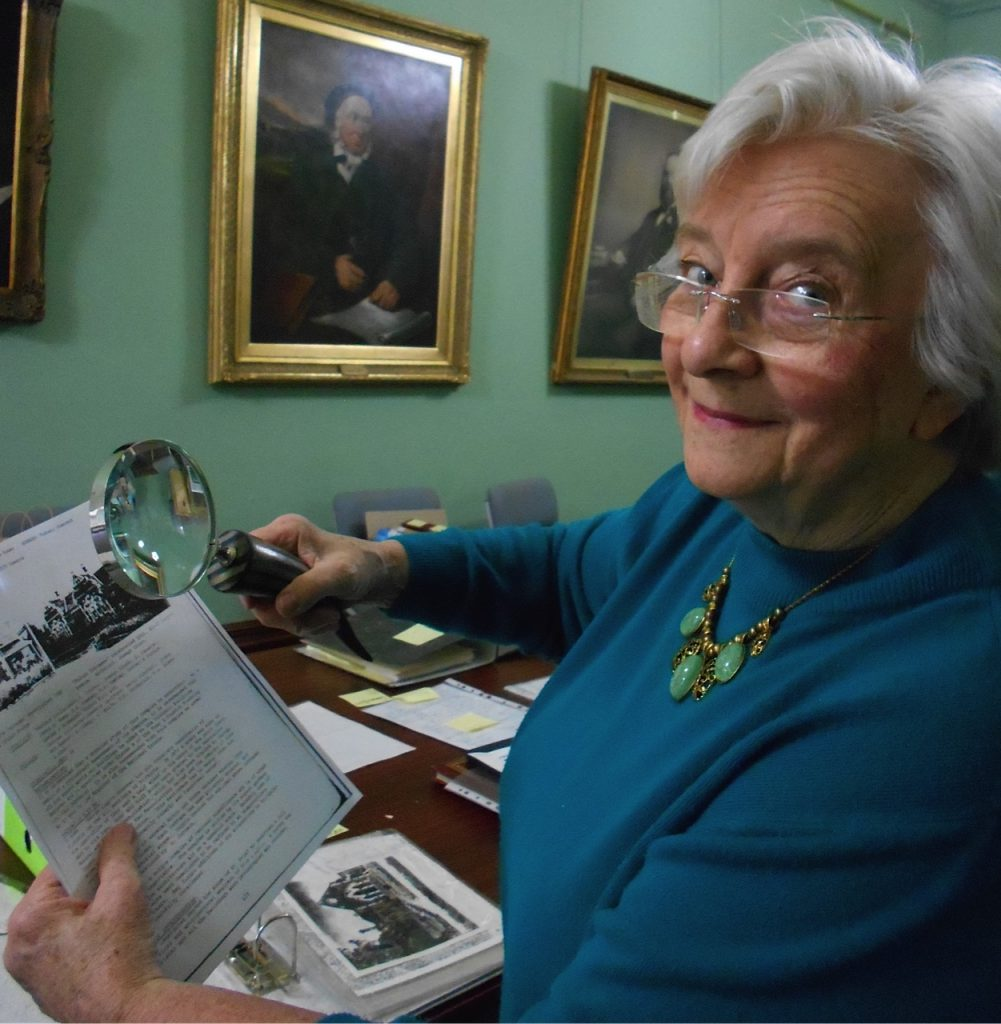 Rushall park resident Heather Hodge on 150th history working group